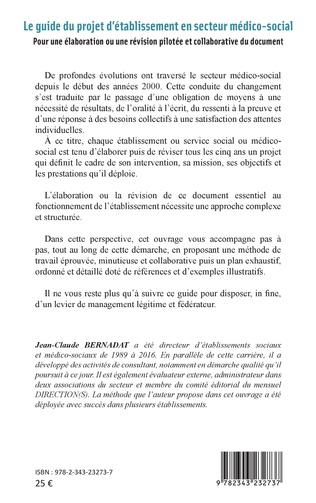 4eme Le guide du projet d'établissement en secteur médico social