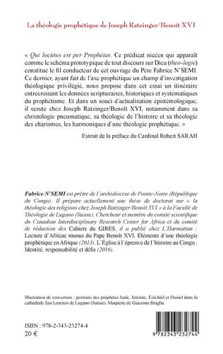 4eme La théologie prophétique de Joseph Ratzinger/Benoît XVI