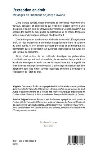 4eme L'exception en droit
