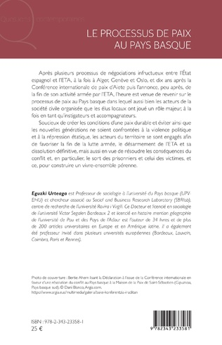 4eme Le processus de paix au Pays basque