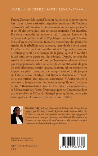 4eme L'amour au coeur du conflit en Casamance.Roman