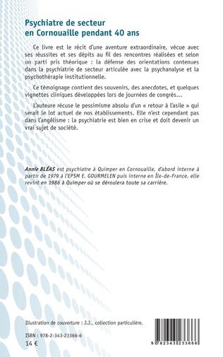 4eme Pyschiatre de secteur en Cornouaille pendant 40 ans