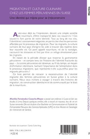 4eme Migration et culture culinaire chez les femmes péruviennes en Suisse