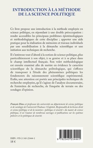 4eme Introduction à la méthode de la science politique