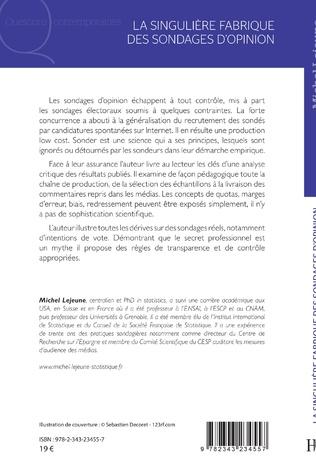 4eme La singulière fabrique des sondages d'opinion
