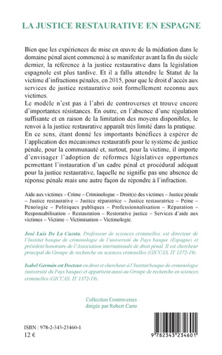 4eme La justice restaurative en Espagne