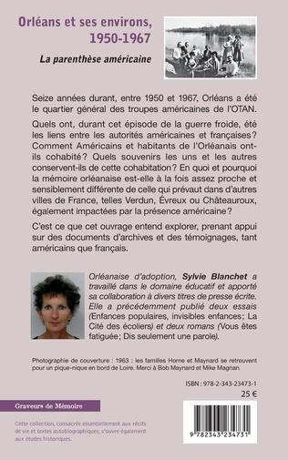 4eme Orléans et ses environs, 1950-1967