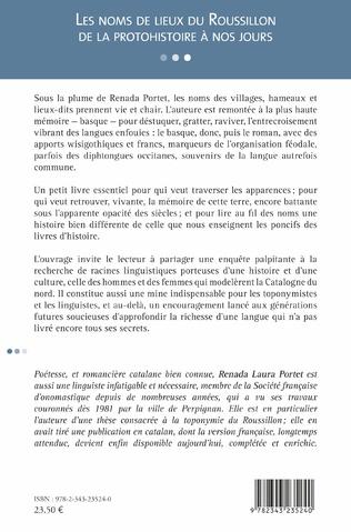 4eme Les noms de lieux du Roussillon