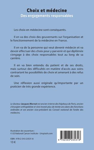 4eme Choix et médecine
