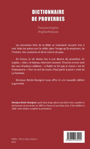 4eme DICTIONNAIRE DE PROVERBES
