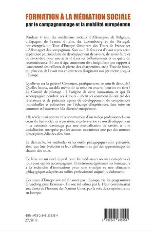 4eme Formation à la médiation sociale par le compagnonnage et la mobilité européeenne