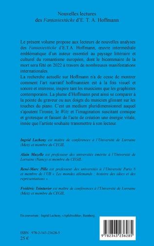 4eme Nouvelles lectures des<em> Fantasiestücke</em> d'E. T. A. Hoffmann