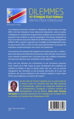 4eme Dilemmes et éthique électorale en politique congolaise