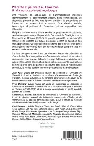 4eme Précarité et pauvreté au Cameroun