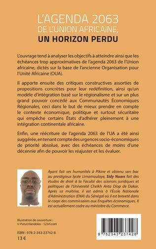 4eme L'agenda 2063 de l'Union africaine, un horizon perdu