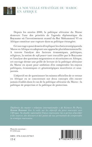4eme La nouvelle stratégie du Maroc en Afrique