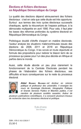 4eme Élections et fichiers électoraux en République Démocratique du Congo