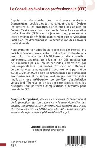 4eme Le conseil en évolution professionnelle (CEP)