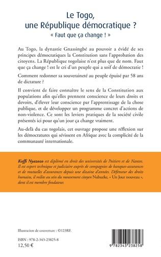 4eme Le Togo, une République démocratique ?