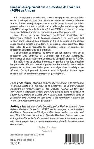 4eme L'impact du règlement sur la protection des données (RGPD) en Afrique