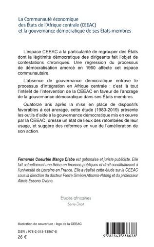 4eme La Communauté économique des États de l'Afrique centrale (CEEAC)