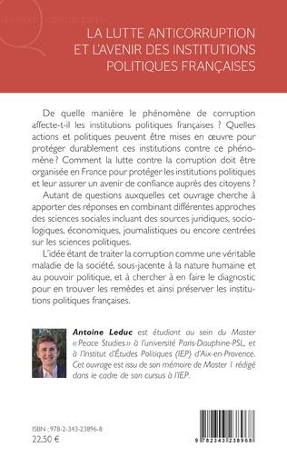 4eme La lutte anticorruption et l'avenir des institutions politiques françaises