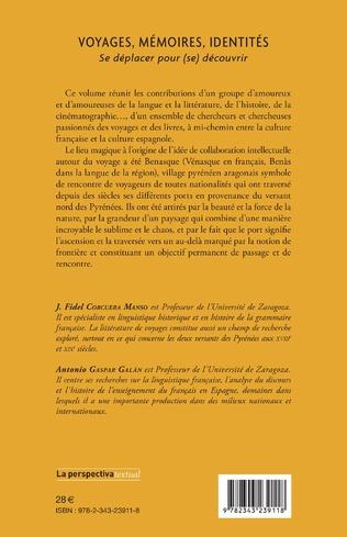 4eme VOYAGES, MÉMOIRES, IDENTITÉS