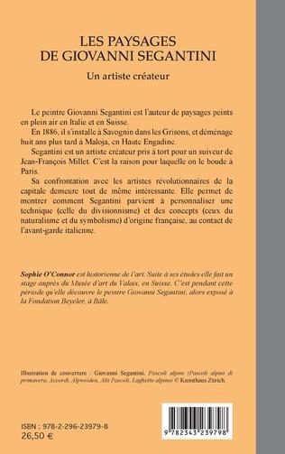 4eme Les paysages de Giovanni Segantini