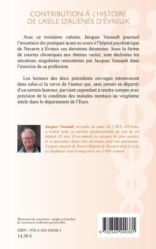 4eme Contribution à l'histoire de l'asile d'aliénés d'évreux
