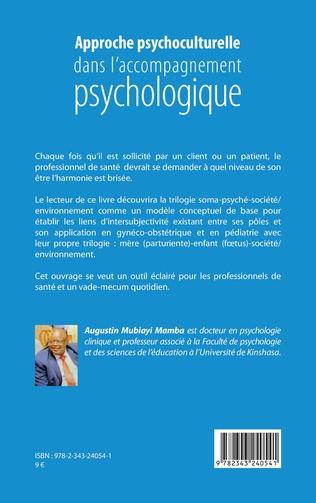 4eme Approche psychoculturelle dans l'accompagnement psychologique