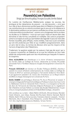4eme Pouvoir(s) en Palestine