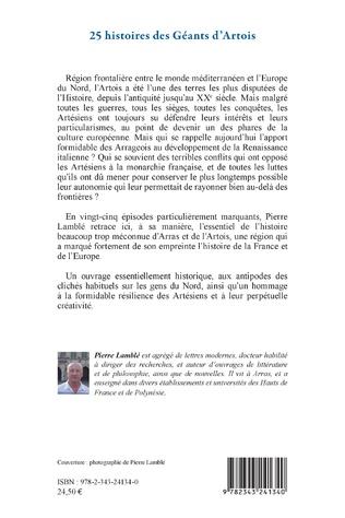 4eme 25 histoires des Géants d'Artois