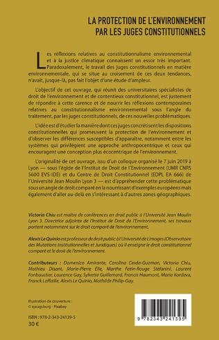 4eme La protection de l'environnement par les juges constitutionnels