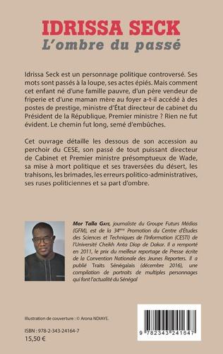 4eme Idrissa Seck. L'ombre du passé