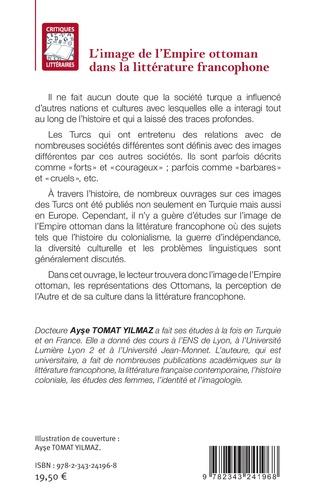 4eme L'image de l'Empire ottoman dans la littérature francophone