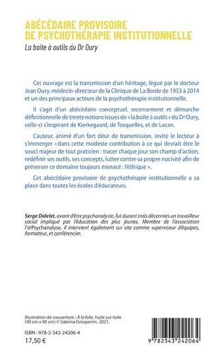 4eme Abécédaire provisoire de psychothérapie institutionelle