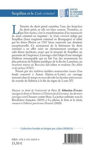 4eme Serpillon et le <em>Code criminel</em>