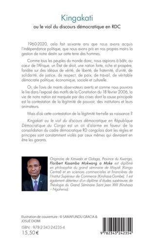 4eme Kingakati ou le viol du discours démocratique en RDC