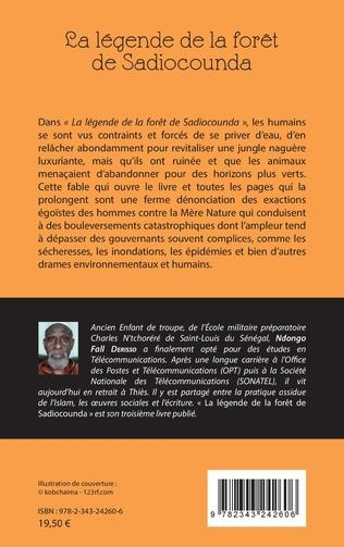 4eme La légende de la forêt de Sadiocounda. Un hymne à la mère nature