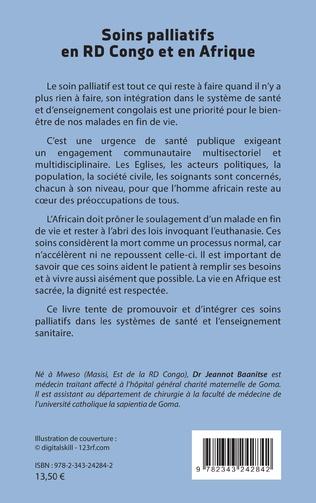 4eme Soins palliatifs en RD Congo et en Afrique. Appel à la promotion et l'intégration