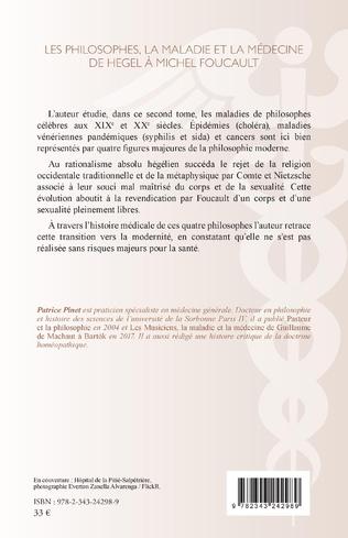 4eme Les philosophes, la maladie et la médecine de hegel à Michel Foucault