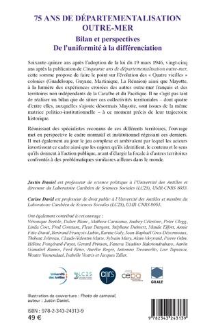 4eme 75 ans de départementalisation outre-mer