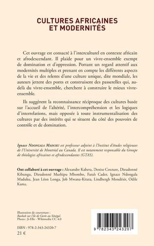 4eme Cultures africaines et modernités