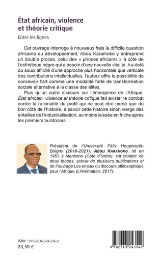 4eme État africain, violence et théorie critique