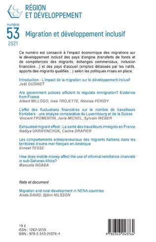 4eme Migration et développement inclusif