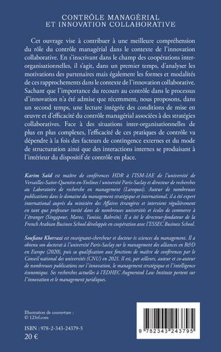 4eme Contrôle managérial et innovation collaborative