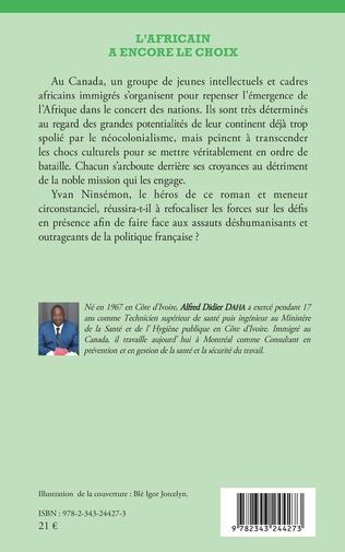 4eme L'Africain a encore le choix. Roman