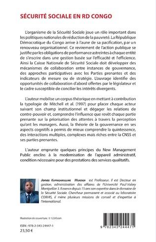 4eme Sécurité sociale en RDC