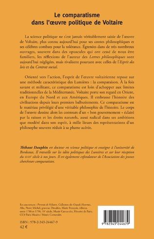 4eme Le comparatisme dans l'oeuvre politique de Voltaire