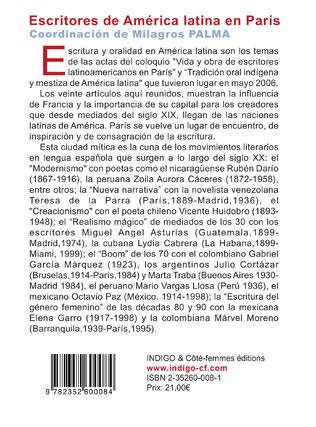 4eme Escritores de América latina en París